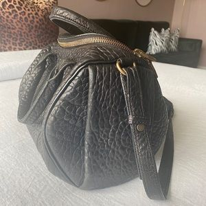 Alexander Wang Black textured duffel Bag (medium)